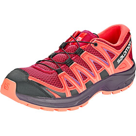 Salomon XA Pro 3D Zapatillas running Niños, cerise./dubarry/peach amber